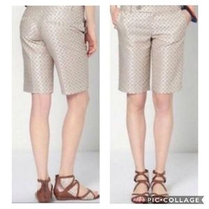 Cartonnier for Anthro Circle Geo jacquard shorts